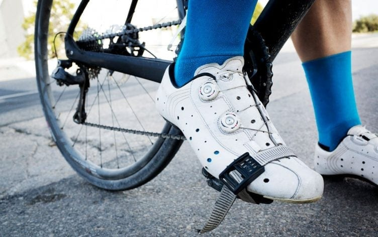 cycling foot pain